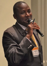 GKI featured Dr. Mwetu as an inaugural African Challengers at the August 2012 Africa Collaboration Colloquium, which convened at Pennsylvania State University. Photo: PSU