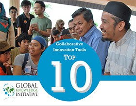 GKI's newly released compendium of Collaborative Innovation tools. Photo Credit: GKI
